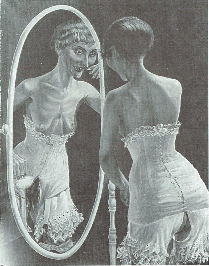 17 best images about neue sachlichkeit on pinterest - Ragazza davanti allo specchio ...
