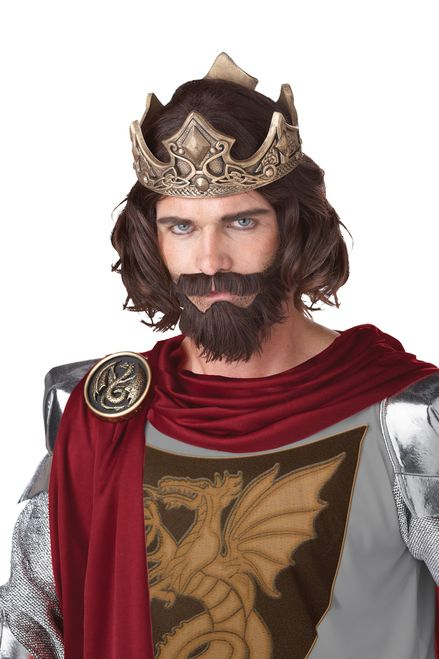 medieval king wig - Red Wigs For Halloween