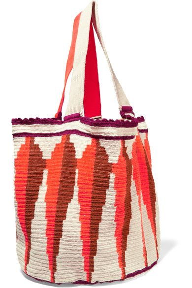 Multicolored crocheted cotton Open top Comes with dust bag Weighs approximately 1.1lbs/ 0.5kgAs seen in The EDIT magazine