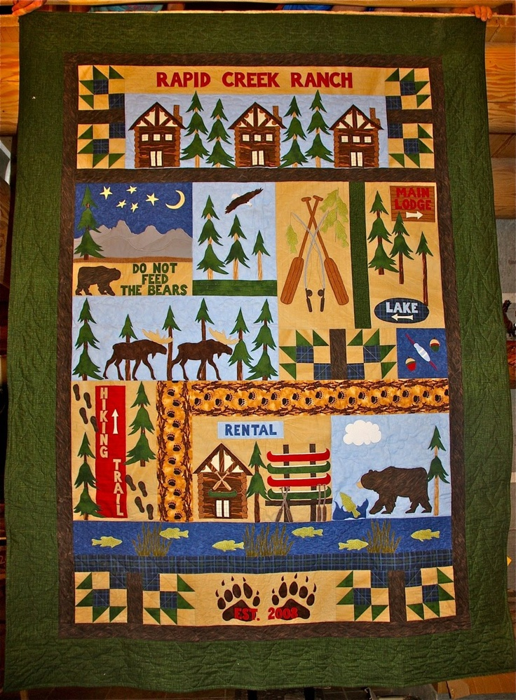 39 best country quilts images on Pinterest | Baby quilts, Bear ... : country quilts and bears - Adamdwight.com