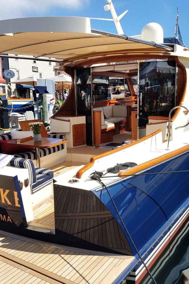 Hinckley Yachts Talaria 48 With Sureshade M3 Automated Mega Yacht