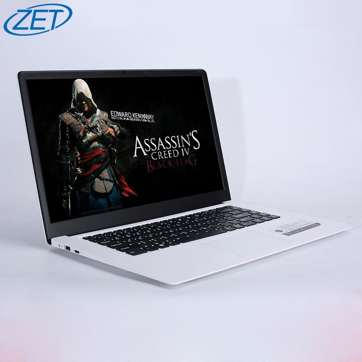 Zeuslap windows 10 ultradunne 15.6 inch grote scherm 1920x1080 fhd quad core fast running netbook laptop computer notebook op sales