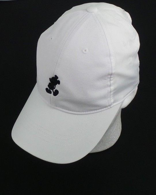 Disney Parks Icon Mickey Mouse Nike Legacy 91 White Baseball Cap Hat Unisex   Disney 1527b591734