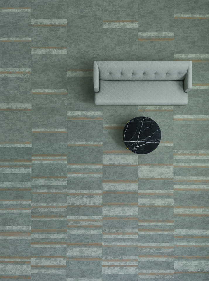Vertical Layers Collection By Shaw Contract Tinge In