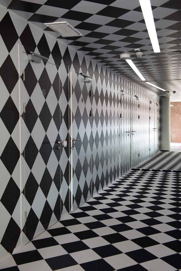 Biuro TMobile, Warszawa  Wykładzina Flotex, druk cyfrowy na zamówienie