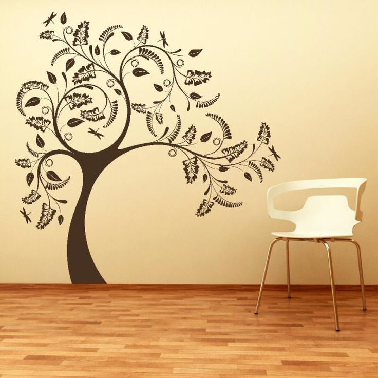 [ Large Tree Giant Wall Sticker Huge Removable Vinyl Decal Stencil White  Decals Nursery Kids Room ]   Best Free Home Design Idea U0026 Inspiration