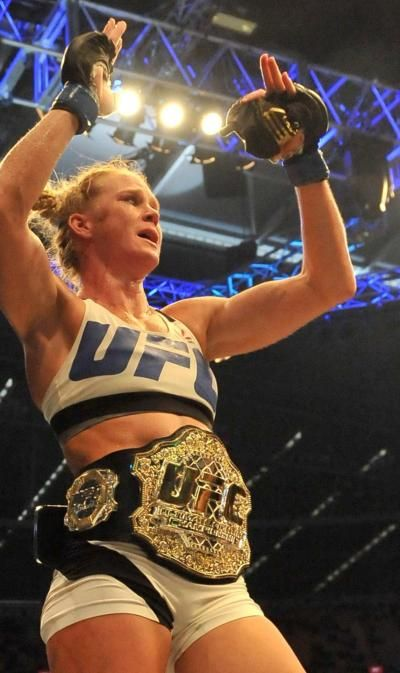 Holly Holm's management is pitching a fight against Miesha Tate before any rematch with Ronda Rousey.