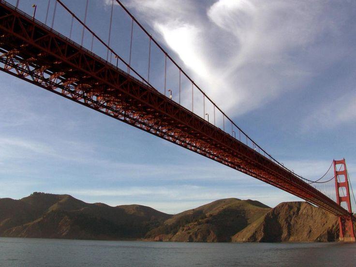Мост Золотые ворота в Сан-Франциско высокое разрешение