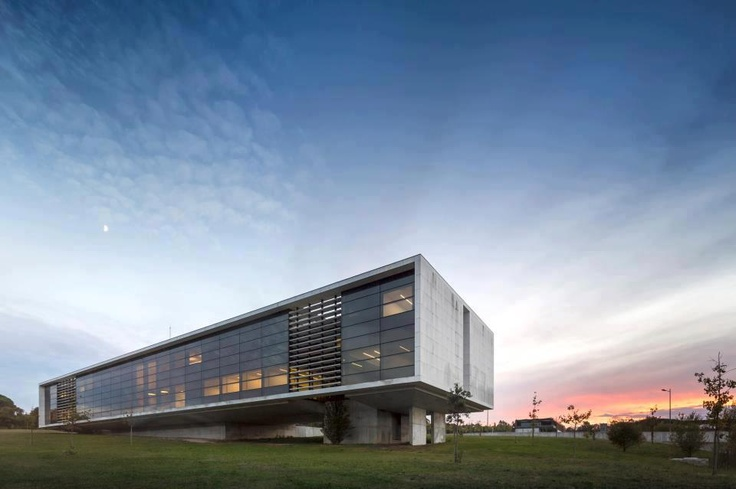 Agros Headquarters by Rocha Leite AA, Póvoa de Varzim, Portugal