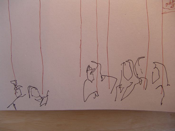 DANIEL HARRISON furniture — Part 3 - Urban Sketching - drawing straight from...