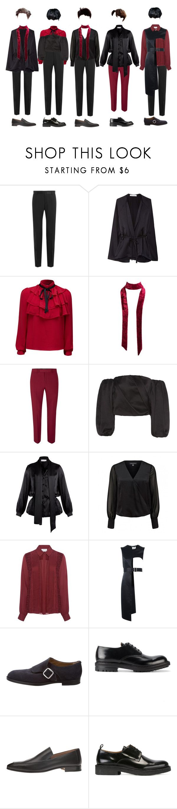 """""""C-R-1 _ WAS"""" by xxeucliffexx ❤ liked on Polyvore featuring Dolce&Gabbana, WithChic, Charlotte Russe, Topman, The Row, Balenciaga, Tanya Taylor, Noir Kei Ninomiya, Jimmy Choo and Alexander McQueen"""