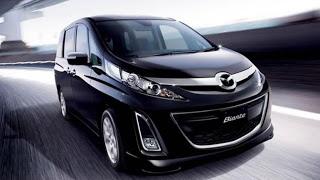 Mazda Biante for get the boxy MPV cars