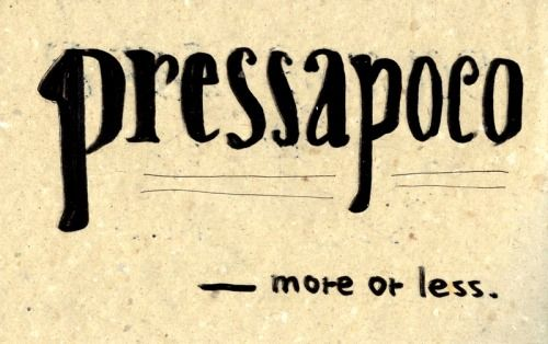 Pressapoco