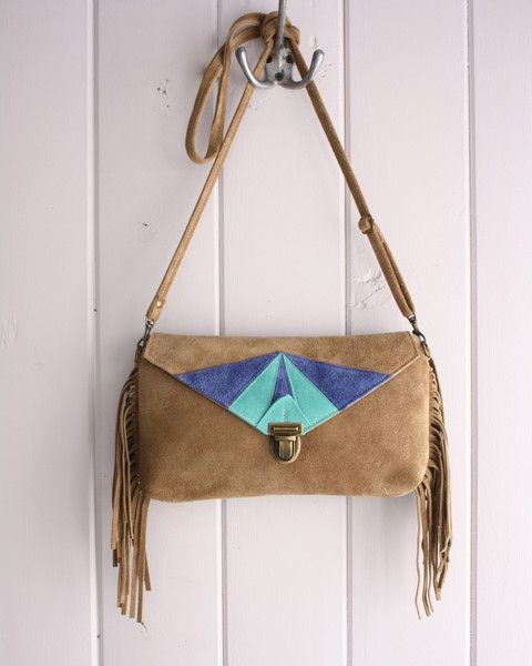 Clutch/Crossbody Bag - Metis Inspired in Turquoise