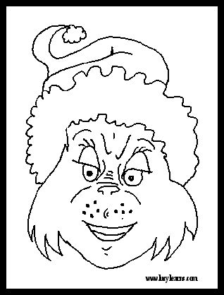 the grinch coloring pages pdf | 254 best Grinch / Whoville images on Pinterest | Christmas ...