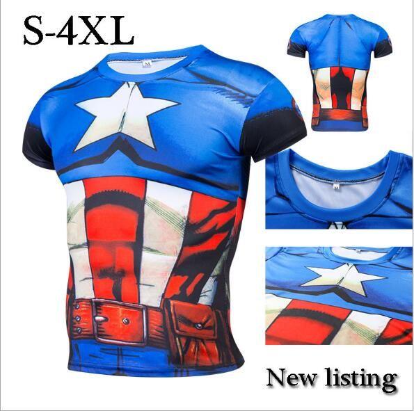 Fun Deadpool Shirt Tee 3D Printed T-shirts Men Fitness G ym Clothing Male Tops Funny T Shirt Superman Deadpool Costume Display #Affiliate
