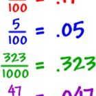 Converting Decimals to Fractions Worksheet  54 items (2 pages)  Convert each terminating decimal to a fraction. Writing Repeating Decimals Using Ba...