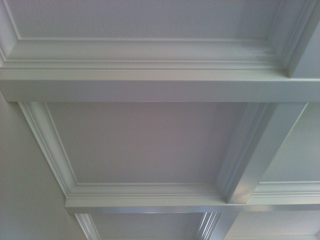 Boxes and beams on pinterest for Box beam ceiling