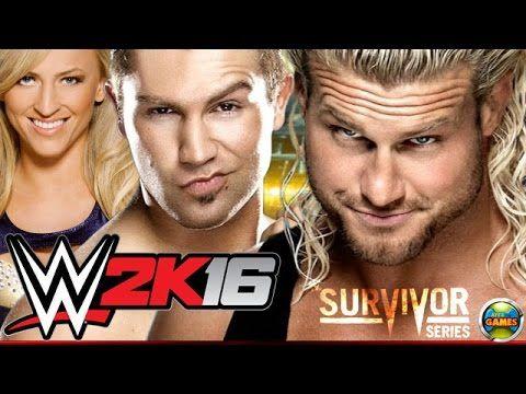 WWE 2K16: Dolph Ziggler vs Tyler Breeze and Summer Rae - Survivor Series