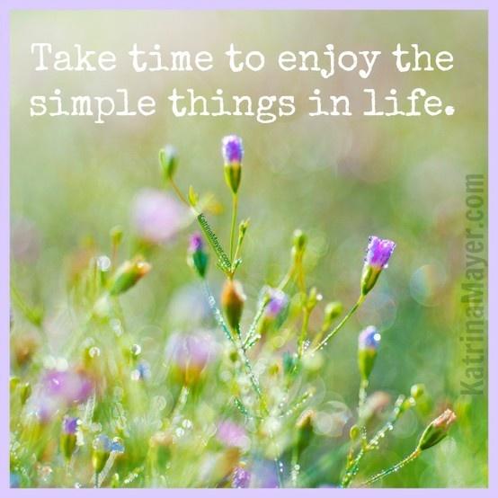 Quotes On Enjoying Life S Simple Pleasures