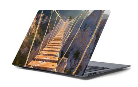 Naklejka na laptopa - Drewniany most 4455
