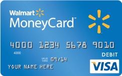 Walmart Money Card - Prepaid  Visa Debit Card