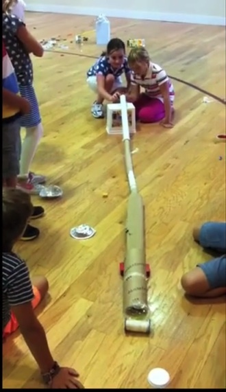 Lower campus Rube Goldberg project
