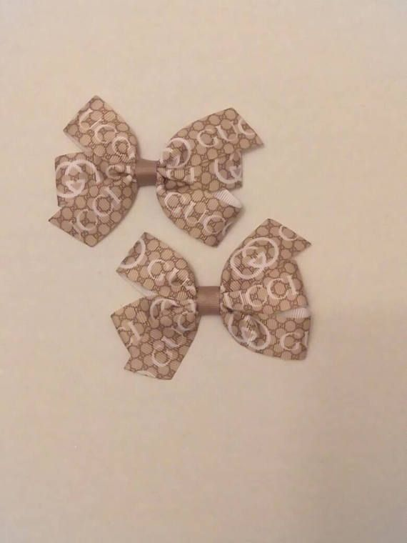 Check out this item in my Etsy shop https://www.etsy.com/listing/523090227/gucci-inspired-hair-bow-tan-hair-bow