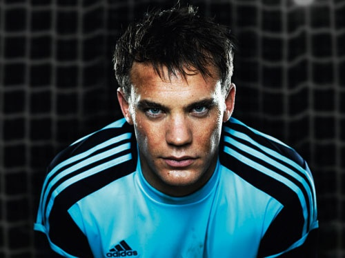 Manuel Neuer - German NT Is he not the most precious thing you've ever seen!?
