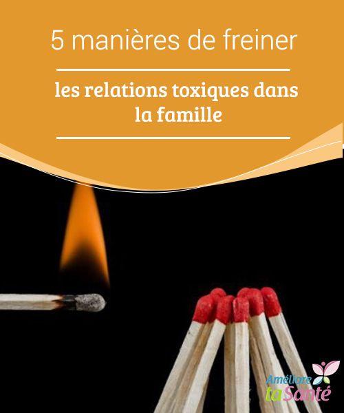 5 manières de freiner les #relations #toxiques dans la #famille Nous devons #apprendre à nous mettre à la place de l'autre et être disposé à le comprendre au-delà des mots et des #actes.