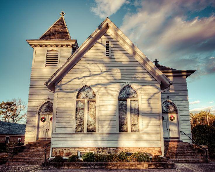Vintage Church Banks Presbyterian Church, Marvin NC