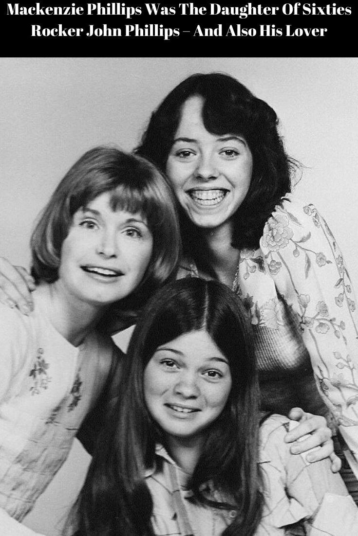 Mackenzie Phillips Was The Daughter Of Sixties Rocker John Phillips And Also His Lover Valerie Bertinelli Old Tv Shows 70s Tv Shows
