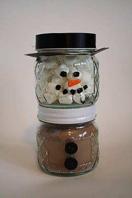 I am having my sons 4th grade class do this craft. We are only doing the top portion with the marshmellows due to the time restraint. I used a holiday ribbon instead of the black - it looks a little more festive :)