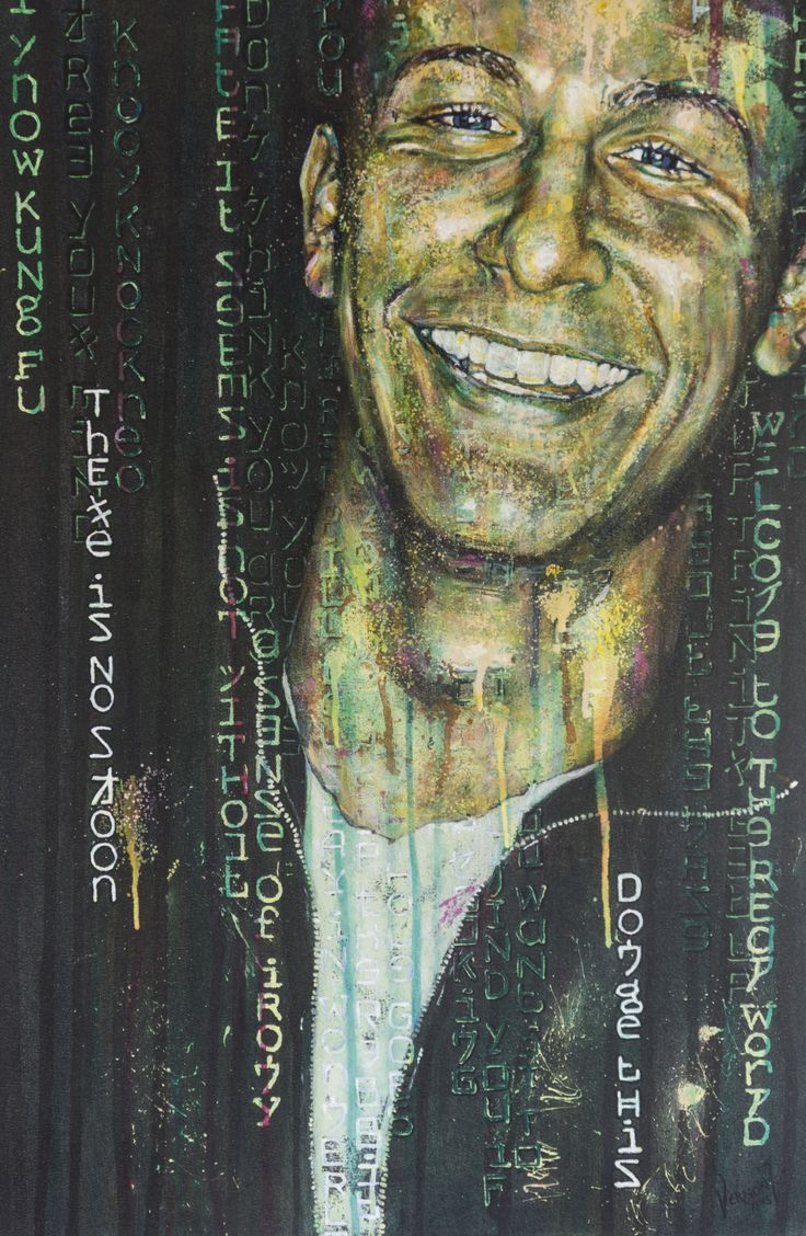 """""""Was Ist Die Matrix?"""" by Vernon Fourie 