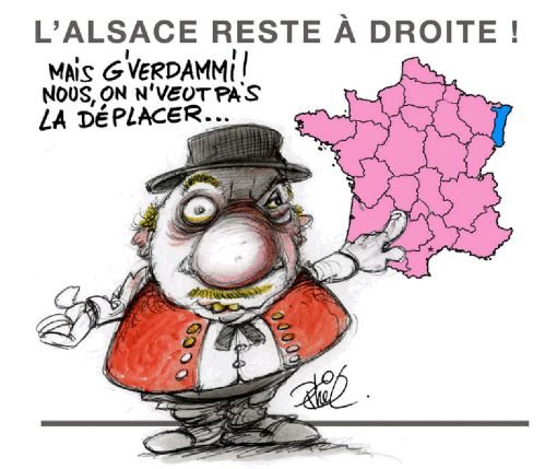 Humour Alsace: Toujours cap tribord lors des elections regionales 2010