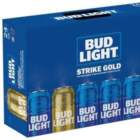 Food & Wine:  Bud Light Pulls a Willy Wonka with a Gold Can Super Bowl Contest