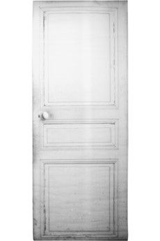 need a door? try an adhesive tromp l'oeil