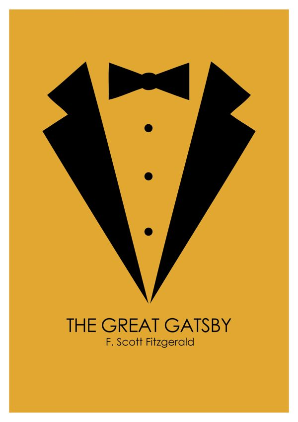 Great Gatsby Book Cover Design by Aakash Kedia, via Behance
