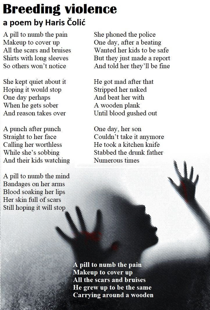 Poem About Domestic Violence And Violence Against  -9811