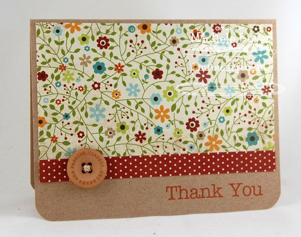 Thank You by Shel9999 - Cards and Paper Crafts at Splitcoaststampers