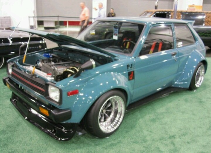 Learn More About Heavily Modified 1981 Toyota Starlet On Bring A Trailer,  The Home Of The Best Vintage And Classic Cars Online.
