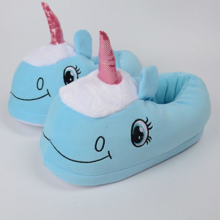>> Click to Buy << Funny Blue Animal Unicorn Slippers Home Shoes Women #Affiliate
