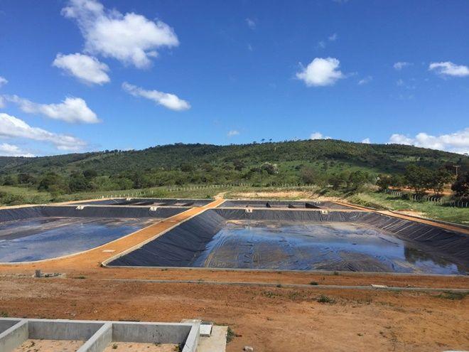 Obra da Codevasf garante saneamento básico para cinco mil moradores do município de Mirangaba - Morro Acontece