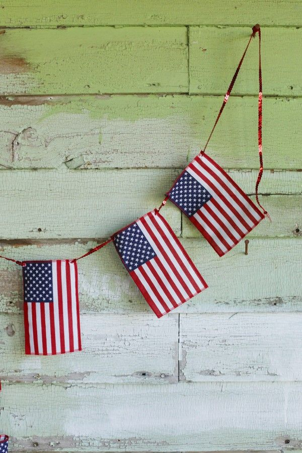 Best 25 American Flag Bunting Ideas On Pinterest