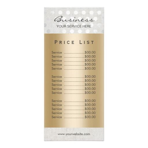 Nirvana Spa Price List