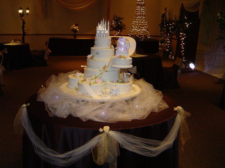 17 Best Ideas About Princess Wedding Cakes On Pinterest