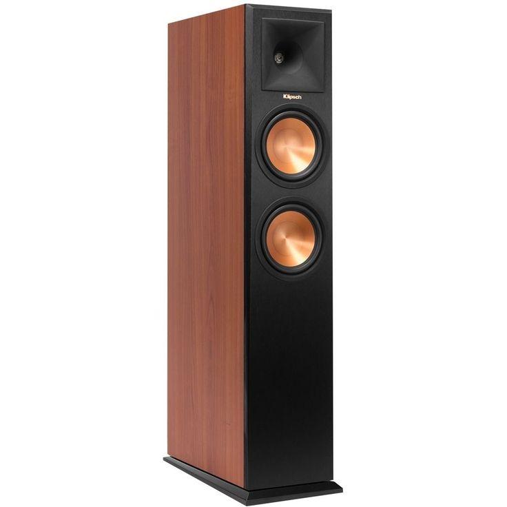 "Klipsch - Reference Premiere Dual 6-1/2"" 500-Watt Passive 2-Way Floor Speaker (Each) - Cherry (Red), RP-260F"