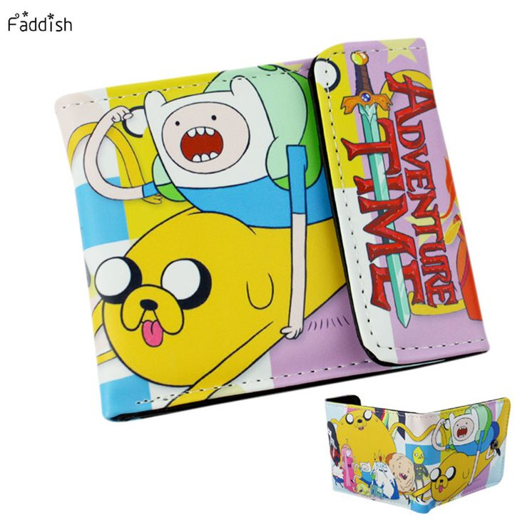 Faddish Brand Anime Cartoon Wallet Doctor Who/Adventure Time/Jack/Zelda and Minions  Purse Three Fold Wallets Dollar Price #clothing,#shoes,#jewelry,#women,#men,#hats,#watches,#belts,#fashion,#style