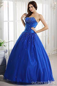 22 best Blue Wedding Dresses images on Pinterest   Royal blue ...