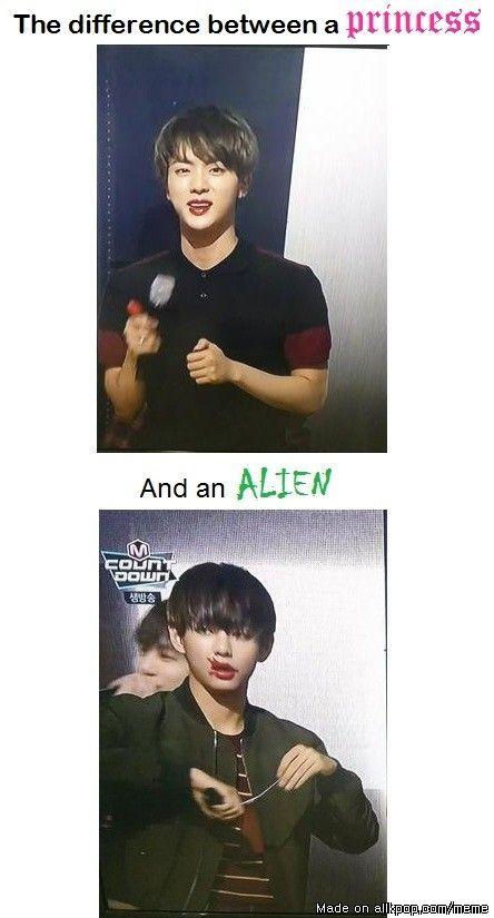 Hahahah :D XD Princess vs Alien | allkpop Meme Center